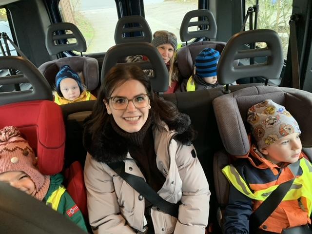 Ab ins Kitamobil zum Ausflug