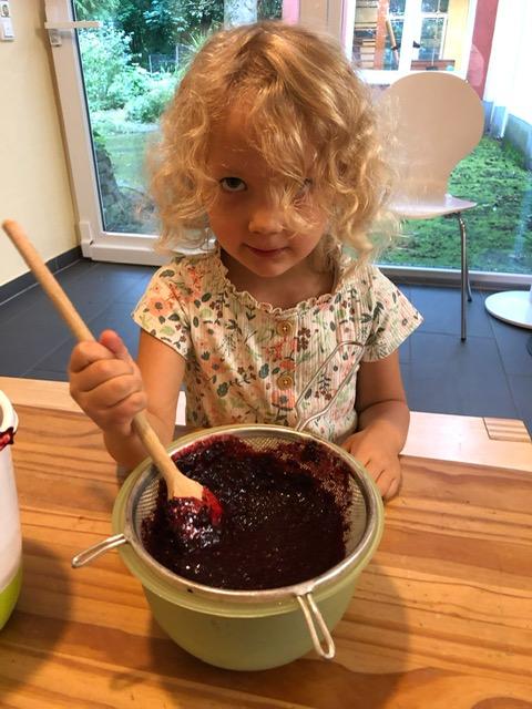 Wir kochen leckere Marmelade